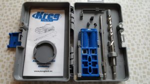 Pocket holes (Kreg jig JR)